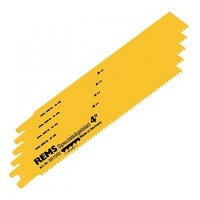 Rems Steel Pipe Cutting Recip Saw Blades 200mm 3.2mm Pitch - 5 Pack