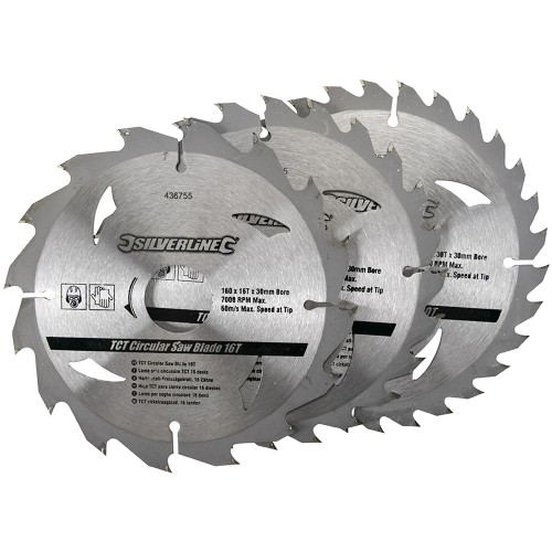 Silverline Saw Reduction Rings