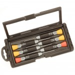Bahco 706-1 Precision Screwdriver Set Slotted and Phillips - 6 Piece