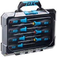 OX Pro Screwdriver Set with Case - 7 Piece