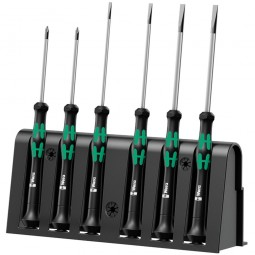 Wera 2035 Kraftform 6 Micro Phillips Screwdriver Set - 6 Piece