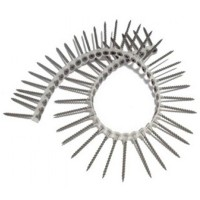 Drywall Screws Collated Autofeed Black 25mm - 1000 Pack