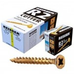 Reisser R2 Cutter Wood Screws 4mm x 40mm - 200 Pack