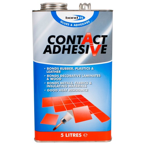 bond it contact adhesive 5 litre. Black Bedroom Furniture Sets. Home Design Ideas