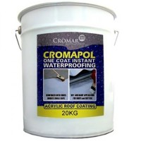 Cromapol Acrylic Waterproofing Coating Black - 20 KG Available In Store Only