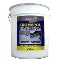 Cromapol Acrylic Waterproofing Coating Grey - 20 KG Available in store only