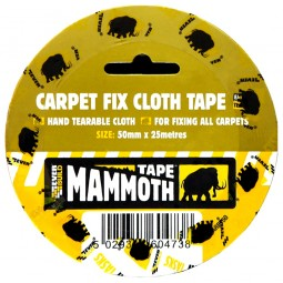 Everbuild Carpet Double Sided Cloth Fixing Tape 50mm - 25 Metres