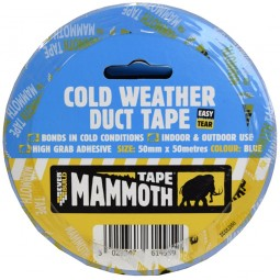 Everbuild Mammoth Cold Weather Duct Tape 50mm x 50 Metres