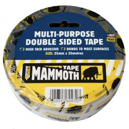Everbuild High Tack Multi Purpose Double Sided Tape White