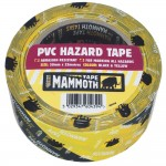 Everbuild Adhesive Hazard Barrier Tape Yellow and Black 50mm x 33m