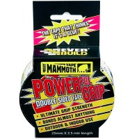 Everbuild Power Grip Double Sided Tape 50mm x 2.5 Metre