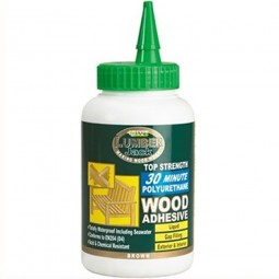 Everbuild Lumberjack Polyurethane Wood Adhesive Liquid 30 Minute 750gm