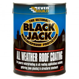 Everbuild 905 All Weather Bitumen Roof Coating Compound