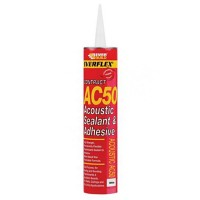 Everbuild AC50 Acoustic Sealant and Adhesive - 400ml