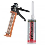 Everbuild Chemical Anchor Studding Resin x 12 + Applicator Gun