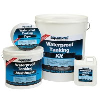 Aquaseal Wet Room Waterproof Tanking System 7.5 Square Metre Kit
