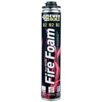 Everbuild Fire Retardant Expanding Foam Gun Grade - 750ml