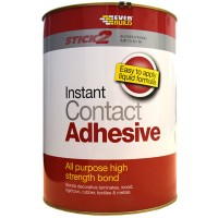 Everbuild Contact Adhesive All Purpose High Strength - 5 Litre