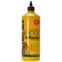Everbuild D4 Waterproof Industrial Wood Glue Adhesive - 1 Litre