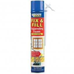 Everbuild Expanding Fill and Fix Foam Hand Held - 750ml