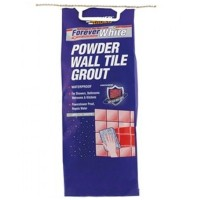 Everbuild Forever White Wall Tile Grout - 3KG