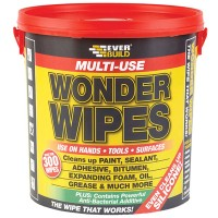 Everbuild Wonder Wipes - 300 Tub