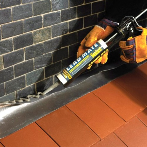 Everbuild Lead Mate Roofing Silicone Sealant Grey 310ml