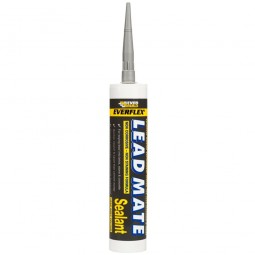 Everbuild Lead Mate Roofing Silicone Sealant Grey - 310ml