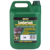 Everbuild Lumberjack Masonry and Brick Dry Rot Treatment - 5 Litre