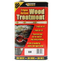Everbuild Triple Action Wood Treatment - 1 Litre