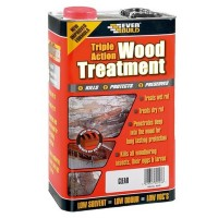 Everbuild Triple Action Wood Treatment - 5 Litre