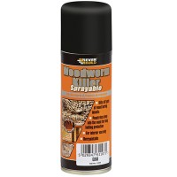 Everbuild Woodworm Killer Aereosol Spray - 200ml