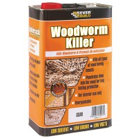 Everbuild Woodworm Killer - 5 Litre