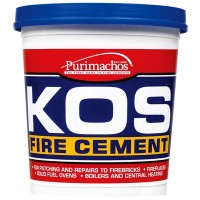 Everbuild KOS Brick Fire Furnace Stove Cement Black - 1KG