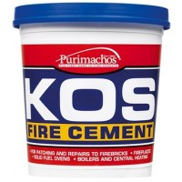 Everbuild KOS Brick Fire Furnace Stove Cement Buff - 2KG