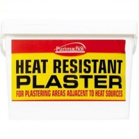 Everbuild KOS Heatproof Plaster Heat Resistant High Temperature 12.5kg