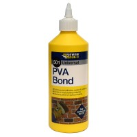 Everbuild 501 PVA Bond Adhesive Sealant Admixture 500ml