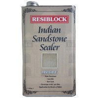 Resiblock Indian Sandstone Sealer Path Patio Invisible Finish 5 Litre