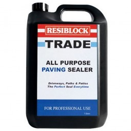 Resiblock All Purpose Trade Block Paving Sealer Clear Matt