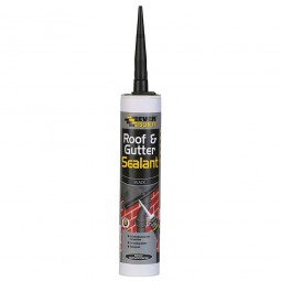 Everbuild Roof and Gutter Sealant Black - 310ml
