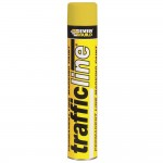 Everbuild Trafficline Line Marking Spray Paint White - 700ml