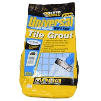 Everbuild 730 Universal Wall & Floor Tile Grout Grey - 5kg