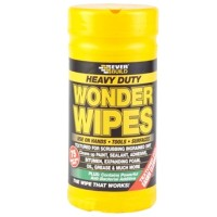 Everbuild Wonder Wipes Heavy Duty Textured - 75 Tub