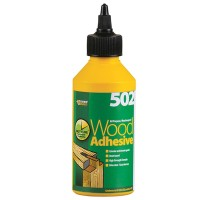 Everbuild 502 Waterproof All Purpose Wood Glue Adhesive - 1 Litre