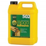 Everbuild 502 Waterproof All Purpose Wood Glue Adhesive - 5 Litre