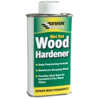 Everbuild Wet Rot Wood Hardener - 250ml