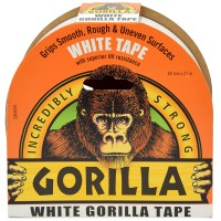 Gorilla UV Resistant All Weather White Tape - 48mm x 27 Metres