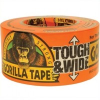 Gorilla General Purpose Duct Tough Wide Tape - 27 Metres x 73mm