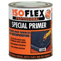 Isoflex Liquid Rubber Clear Special Primer and Undercoat - 750ml