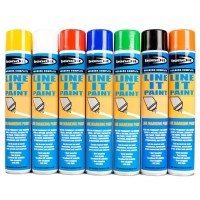 Line Marking Spray Paint Permanent Yellow - 750ml